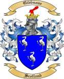 Gibbsone Family Crest from Scotland