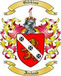 Gibkins Family Coat of Arms from Ireland