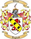 Gibon Family Coat of Arms from England