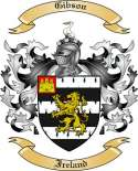 Gibson Family Coat of Arms from Ireland