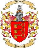 Gibson Family Coat of Arms from Scotland