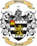 Gibsons Family Coat of Arms from Ireland