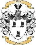 Gide Family Crest from France
