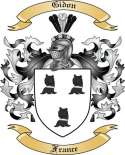 Gidon Family Crest from France