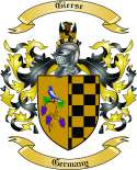 Gierse Family Crest from Germany
