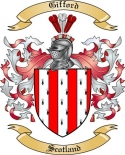 Gifford Family Crest from Scotland