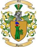 Gil Family Coat of Arms from Spain
