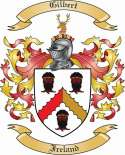 Gilbert Family Coat of Arms from Ireland