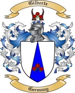 Gilbertz Family Crest from Germany