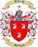 Gilbreth Family Coat of Arms from Scotland