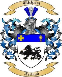 Gilchrist Family Crest from Ireland