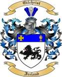 Gilchrist Family Coat of Arms from Ireland