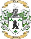 Gilin Family Crest from Ireland