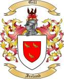 Gill Family Coat of Arms from Ireland