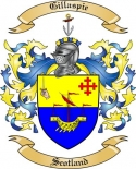 Gillaspie Family Crest from Scotland