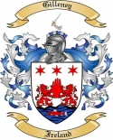 Gilleney Family Crest from Ireland