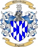 Gillenwater Family Crest from England