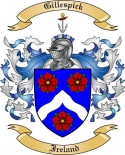 Gillespick Family Crest from Ireland