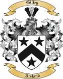 Gilley Family Crest from Ireland