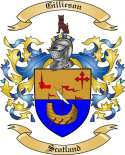 Gillieson Family Coat of Arms from Scotland