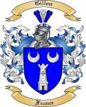 Gillon Family Crest from France
