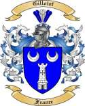 Gillotot Family Crest from France