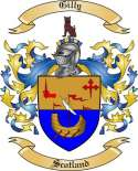 Gilly Family Coat of Arms from Scotland