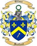 Gilmer Family Coat of Arms from Scotland