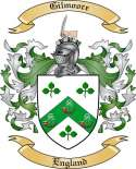 Gilmoore Family Crest from England