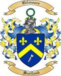Gilmoore Family Crest from Scotland