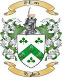 Gilmore Family Coat of Arms from England