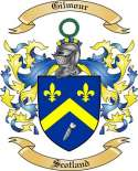 Gilmour Family Crest from Scotland