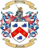 Gilreavy Family Crest from Ireland