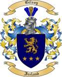 Gilroy Family Coat of Arms from Ireland