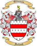 Gilsenan Family Crest from Ireland