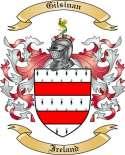 Gilsinan Family Coat of Arms from Ireland