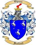 Gipson Family Coat of Arms from Scotland
