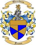 Girardeau Family Crest from France2