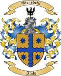 Girardelli Family Coat of Arms from Italy
