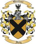 Girolami Family Crest from Itlay