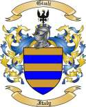 Giuli Family Crest from Italy