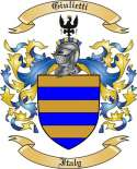 Giulietti Family Crest from Italy