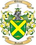 Givens Family Crest from Ireland