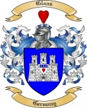 Glaas Family Crest from Germany
