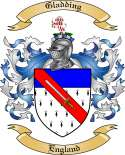Gladding Family Coat of Arms from England