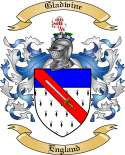 Gladwine Family Crest from England