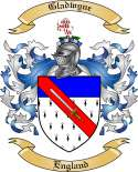 Gladwyne Family Crest from England