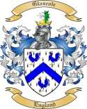 Glascote Family Coat of Arms from England