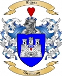 Glase Family Crest from Germany