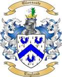 Glasscote Family Crest from England